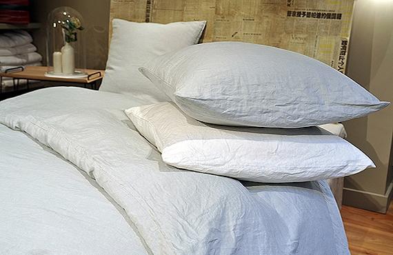housse de couette en pur lin lav 140 x 200 summer camp. Black Bedroom Furniture Sets. Home Design Ideas