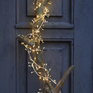 Guirlande lumineuse électrique indoor Sirius Knirke Taille: 2m, 3m fil argent, 160 leds warm white 30810_Knirke-Cluster_Chris-18