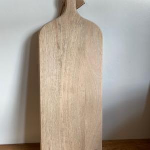 Planche CB0301 chunni chopping board en bois de manguier - Nkuku - Longueur 60cm/20cm
