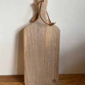 Planche CB0303 chunni chopping board en bois de manguier - Nkuku - Longueur 38cm/ 15cm
