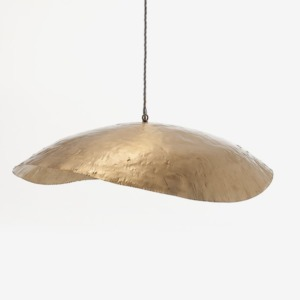 Suspension « Gervasoni » en laiton de diamètre 80cm Brass 95