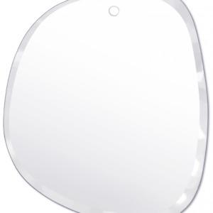 Miroir biseauté entièrement fait à la main M nuance 46 / 55 cm