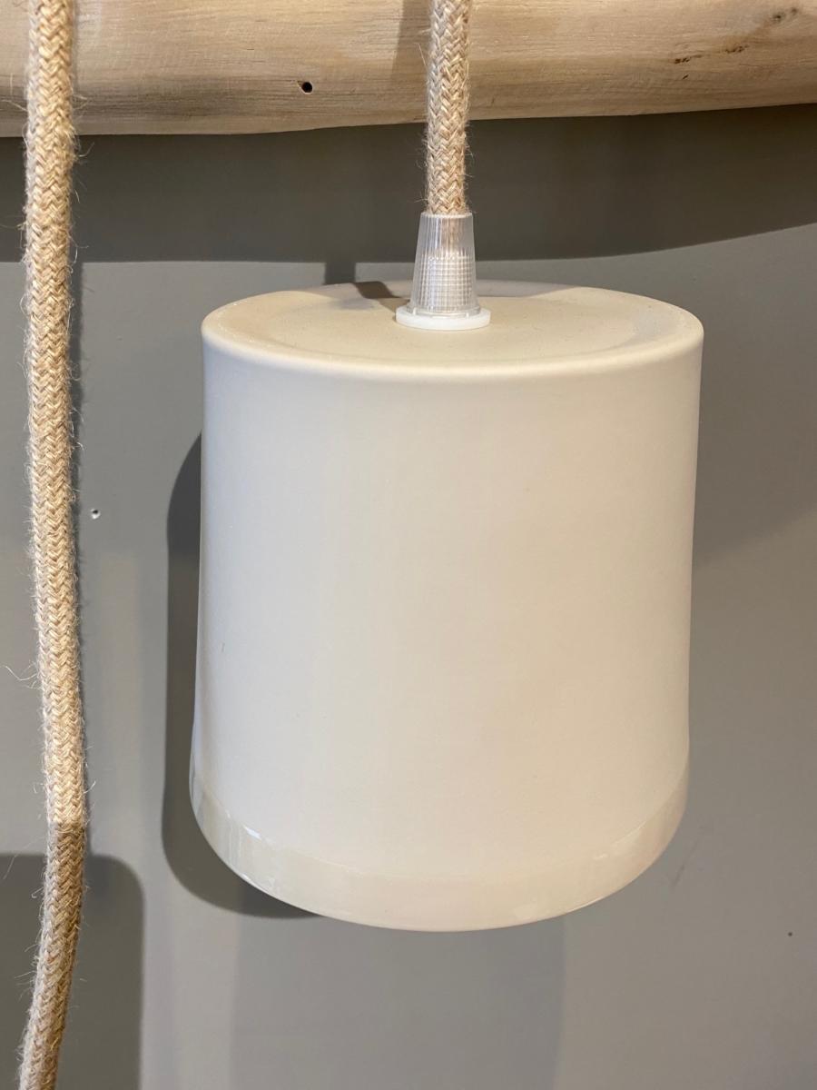 Baladeuse en porcelaine - Valérie Delobal - Coloris « sauterne » 11x12