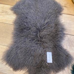 Peau de mouton tibétain véritable - Fibre By Auskin - Coloris portabello 80x55
