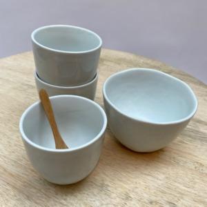Gobelet café allongé - Porcelino de Pomax