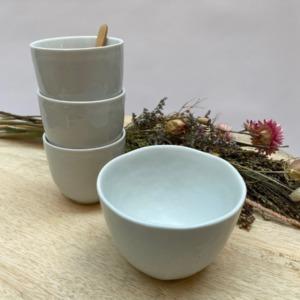 Gobelet expresso - Porcelino de Pomax - Diamètre 7,5cm. H: 6,5cm