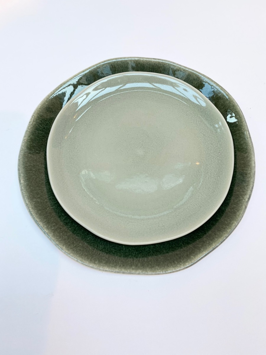 Assiette, Jars céramistes, Tamaris, service Maguelone
