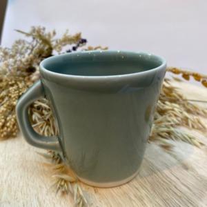 Mug en grès Jars céramistes coloris Gris Oxyde Contenance 30cl , Service Cantine