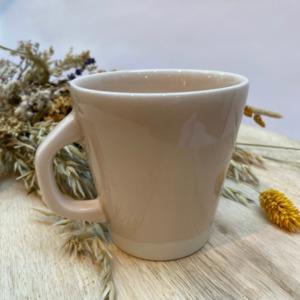Mug en grès Jars céramistes coloris Rose Buvard Contenance 30cl , Service Cantine